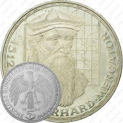5 марок 1969, Меркатор [Германия]