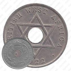 1 пенни 1922 [Британская Западная Африка]