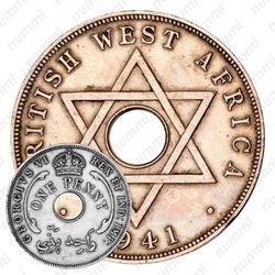 1 пенни 1941 [Британская Западная Африка]