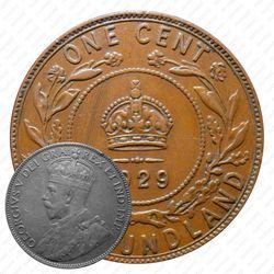 1 цент 1929 [Канада]