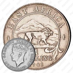 1 шиллинг 1941 [Восточная Африка]