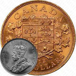 10 долларов 1912 [Канада]