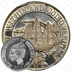 10 долларов 1972 [Силенд] Proof