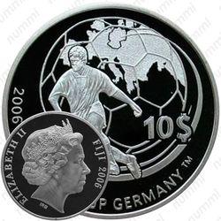 10 долларов 2006, Чемпионат мира по футболу 2006, Германия [Австралия] Proof