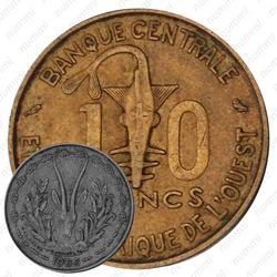 10 франков 1966 [Западная Африка (BCEAO)]