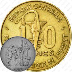 10 франков 1982 [Западная Африка (BCEAO)]