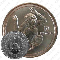 10 франков 2003 [Джибути]