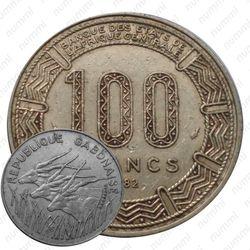 100 франков 1982 [Габон]