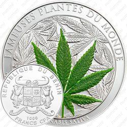 100 франков 2010, серебро [Бенин]