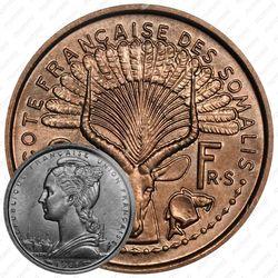 2 франка 1948 [Джибути]