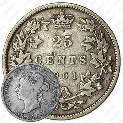 5 центов 1901 [Канада]