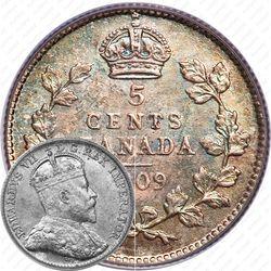 5 центов 1909 [Канада]