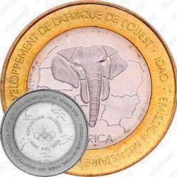 6000 франков 2005, олимпиада [Бенин]