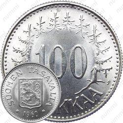 100 марок 1960, S