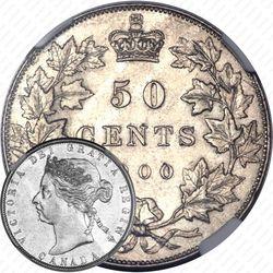 50 центов 1900 [Канада]