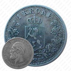 1 крона 1885 [Норвегия]