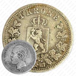 1 крона 1887 [Норвегия]