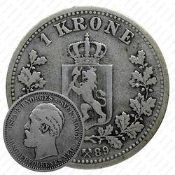 1 крона 1889 [Норвегия]