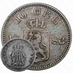 10 эре 1883 [Норвегия]