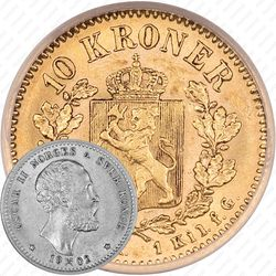 10 крон 1902 [Норвегия]