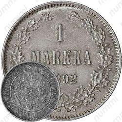 1 марка 1892, L
