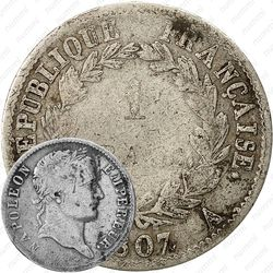 1 франк 1807-1808 [Франция]