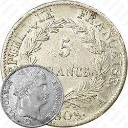5 франков 1807-1808 [Франция]