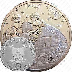 500 франков 2010, Знаки зодиака - Близнецы [Камерун]