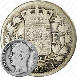 ½ франка 1825-1830 [Франция]