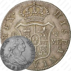 4 реала 1792-1808 [Мексика]