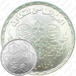 5 фунтов 1984, 60 лет Кооперации [Египет]