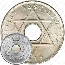 ½ пенни 1912-1936 [Британская Западная Африка]