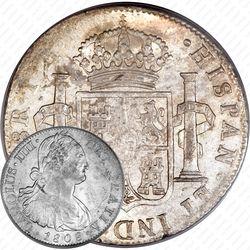8 реалов 1791-1808 [Мексика]