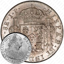 8 реалов 1791-1808 [Перу]