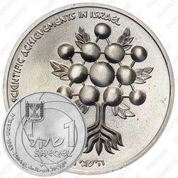 1 шекель 1985, 37 лет Независимости [Израиль]