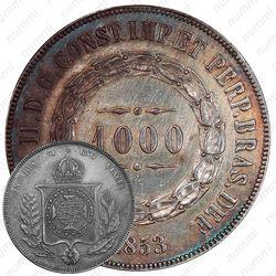 1000 рейсов 1853-1866 [Бразилия]