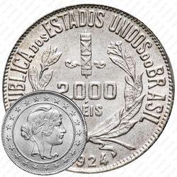 2000 рейсов 1924-1934 [Бразилия]