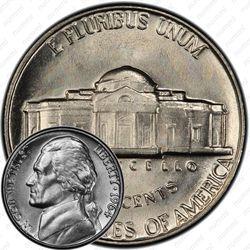 5 центов 1964, Томас Джефферсон