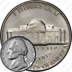 5 центов 1969, Томас Джефферсон