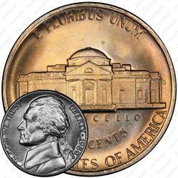 5 центов 1980, Томас Джефферсон