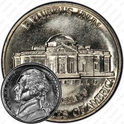 5 центов 1987, Томас Джефферсон