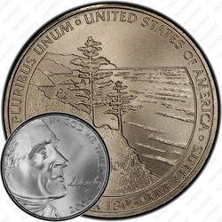 5 центов 2005, выход к океану