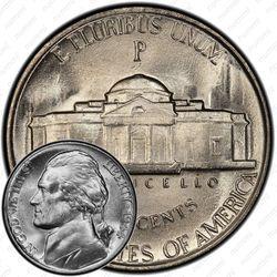 5 центов 1944, Томас Джефферсон