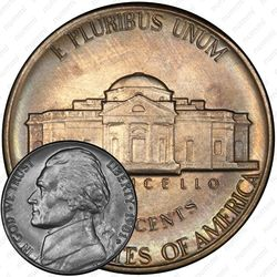5 центов 1981, Томас Джефферсон