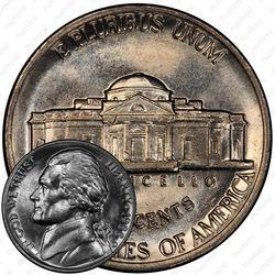 5 центов 1988, Томас Джефферсон