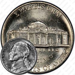 5 центов 1989, Томас Джефферсон