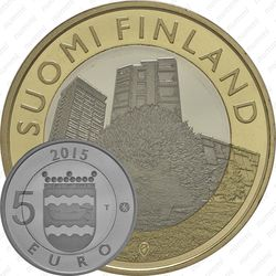 5 евро 2015, ёж