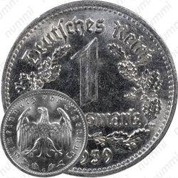 1 рейхсмарка 1939
