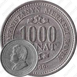 1000 манатов 1999
