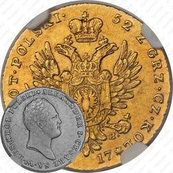25 злотых 1817, IB